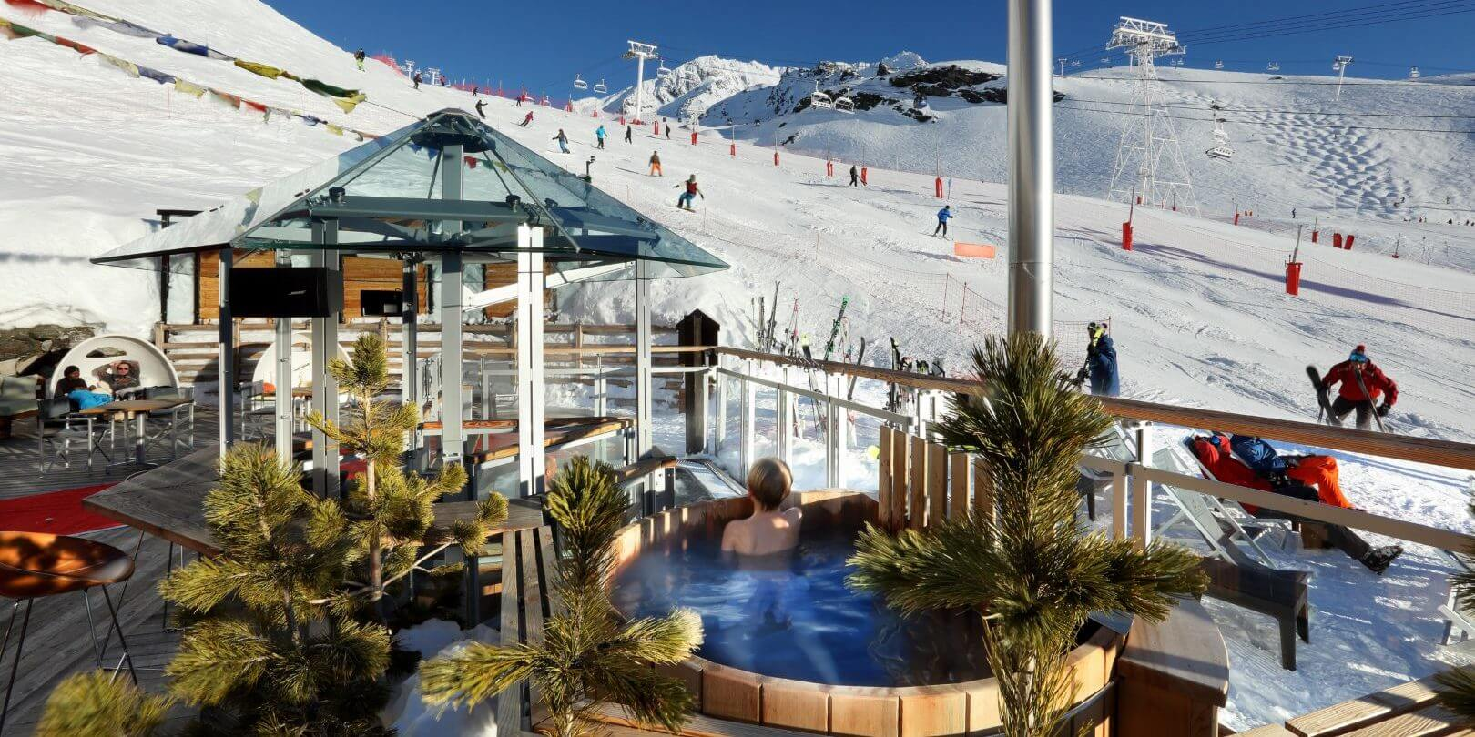 luxe hotel val thorens