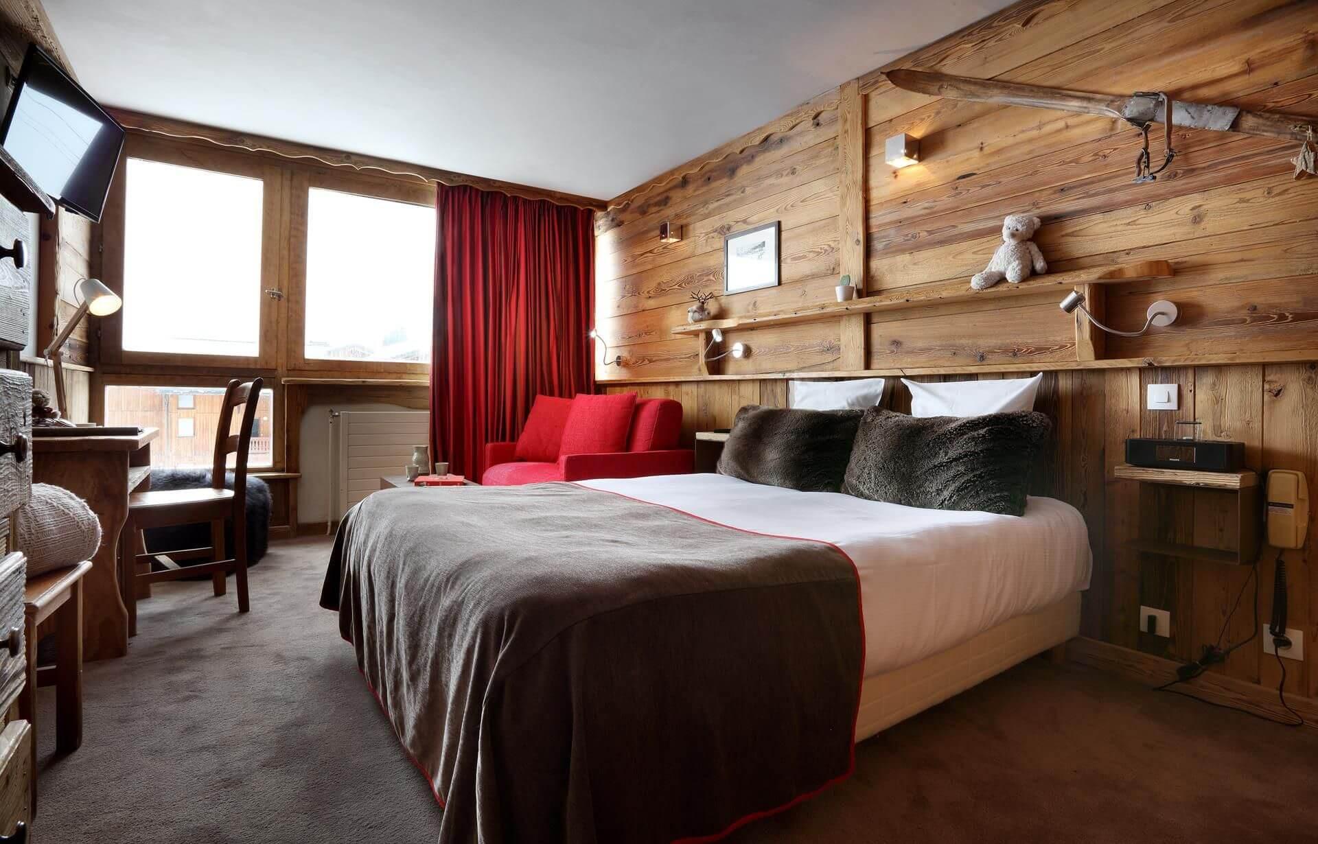 romantisch hotel val thorens